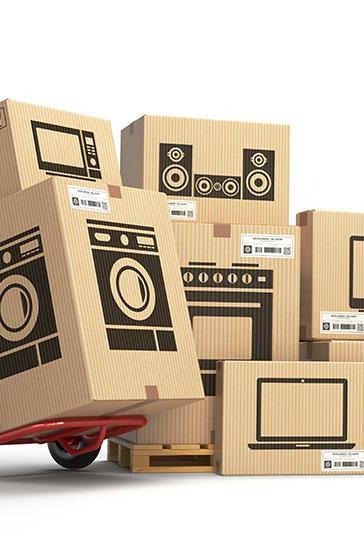 Livraison de marchandises pour les sociétés